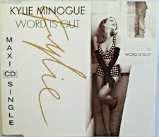 "KYLIE MINOGUE - RARE FRANCE MAXI CD ""WORD IS OUT"""
