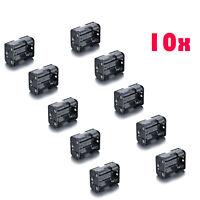 10x Plastic 6 X AA Battery Holder Box 9V Power Supply Case for R06/14500/1450