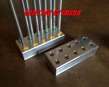 Aluminum Primer Tube Stand hold 10tubes for Dillon Precision Press 650 1050 550