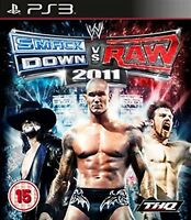 WWE Smackdown vs Raw 2011 (PS3) by THQ -Brand New and Sealed PS3 Video Game Case