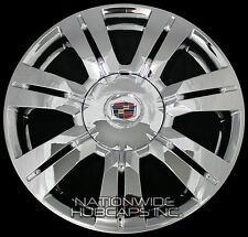 "4 CHROME 10-16 Cadillac SRX 18"" Wheel Skins Hub Caps Rim Covers and Center Caps"