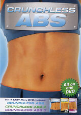 CRUNCHLESS ABS 1 2 3       DVD  NEW