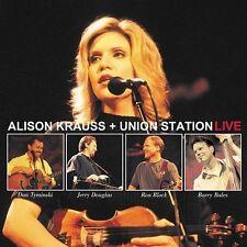 Alison Krauss + Union Station Live 2-Disc CD Album VGC
