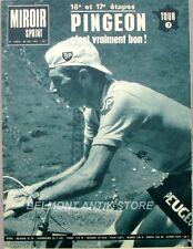 Miroir sprint N°1102 B-20 juil 1967-Pingeon-Mastrotto-Tourmalet-Gimondi-Poulidor