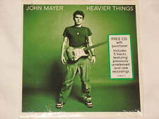 John Mayer RARE PROMO CD 5 Unreleased Tracks Live Acoustic Heavier Things NEW