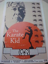 Karate Kid movie poster print