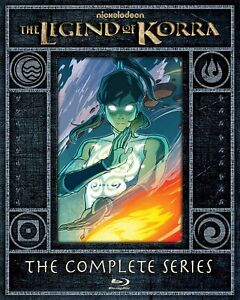 The Legend of Korra The Complete Series Blu-ray Limited Edition Steelbook Boxset