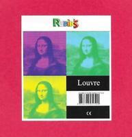 Rubik's cube - Thème La Joconde - 5 x 5 cm
