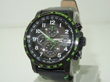 citizen eco drive chronograph radio controlled world time watch AT8128-07E