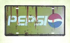 Us Seller- Pepsi advertising tin sign car plate garage decor tips