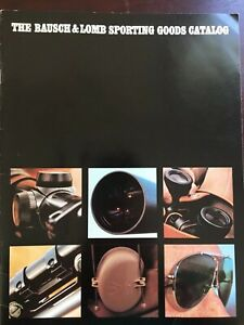 Vintage Bausch & Lomb Sporting Goods Catalog, Rifle Scopes, Trophy Scopes.