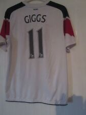 Manchester United Away Giggs 2011-2012 Football Shirt Small /43470 POOR COND