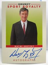Wayne Gretzky 2017 UD Goodwin Champions Sport Royalty Autograph Auto SP 1:55,543