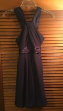 David's Bridal Juniors Dress Purple Size 12