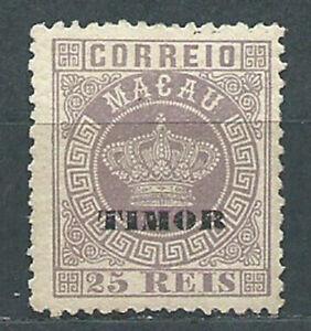 Timor Courrier Yvert 4A ( ) Mng