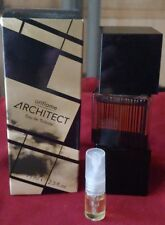 Oriflame architect 2ml glass Decant!!! Tobacco woods vetiver