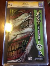 BATMAN 17 new 52 series CGC 9.6 SS 2013 ECCC EXCLUSIVE Death of the Family Die