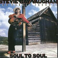 STEVIE RAY VAUGHAN AND DOUBLE TROUBLE soul to soul (CD album) blues rock