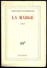 DE MANDIARGUES Andrè Pieyre (Parigi 1909-1991), La Marge