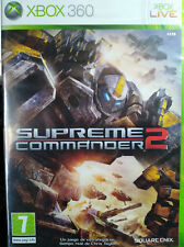 SUPREME COMMANDER 2. JUEGO PARA XBOX 360. NUEVO, PRECINTADO.