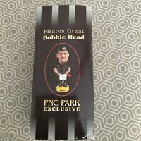 "JASON KENDALL Bobblehead 2002 Pittsburgh Pirates SGA Limited 8"" NIB w/ Box"