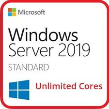 Windows Server 2019 Standard License Key ESD Unlimited Cores
