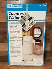 Sears Kenmore Countertop Water Purifier Model 42-3444 Distiller Cleaner Tested