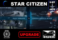 Star Citizen - Anvil Terrapin to Esperia Vanduul Blade Upgrade