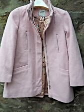 NEXT GIRLS PINK VELOUR JACKET COAT AGE 10 YRS HEIGHT 140CM