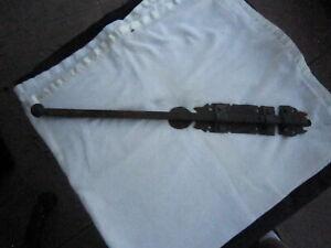 "Hand Wrought Iron Gate/ Door Latch 18 1/2"" long"