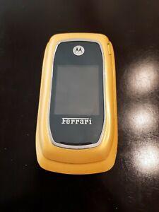 Motorola i897 Ferrari Yellow special Edition Phone