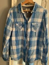 Fat Face Ladies Size 14 Checked Shirt