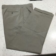 Ping Collection Men's Cuffed Pants 36/32 Heather Khaki