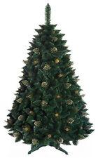 Árbol de Navidad Pino de oro con cristales bosque verde altura 180cm - GOLD PINE