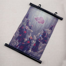 Anime Naruto Akatsuki Poster Cartoon Wall Scroll Fan's Art Print Home Decoration