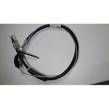 Ford Anglia 105E Handbrake Cable with retainer clip -  Saloon / Estate only