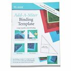 YICBOR Add-A-Miter Binding Quilting Ruler and Template #RL-AAM