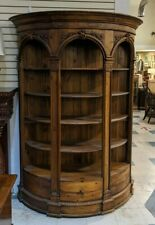 Large Antique Style Shelving Unit w/ Drawer