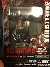 Capcom Organic Biohazard Resident evil Collection Figure P3 Zombie Cerberus