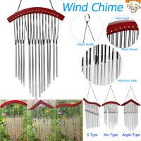Outdoor Indoor 15 Aluminum Tube Wind Chimes Bells Garden Patio Porch Decor Gifts
