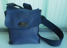 Authentic MULBERRY Anthony bag - blueberry crossbody OK condition small size