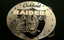 Oakland Raiders NFL Limited Edition     2 nd Series Belt Buckle #9337/10,000