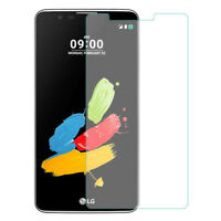 LG Stylo 3 High Quality Clear Tempered Glass Screen Protector from Canada