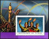 Tschad - Sojus 11 Block 31 postfrisch 1972 Mi. 456