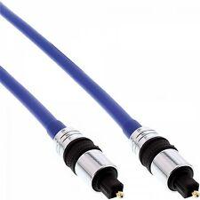 Cavo Audio Ottico Premium Toslink Maschio 10 MT Metri ORO Digitale fibra  ottica fd5fde57b77e
