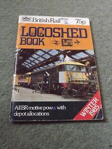 Ian Allan ABC Locoshed TMD Depot 1985 Diesel Locos Book BR Class 87 33 37 47 20