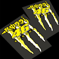 Rossi Energy REFLECTIVE  Motorcycle  decals  stickers  motorcycle  graphic x 2