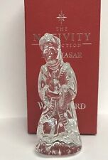 Waterford Crystal Ireland The Nativity Collection Wise Man Balthazar Figurine