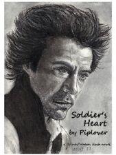 """Sherlock Holmes Fanzine """"Soldier's Heart"""" SLASH Novel Holmes/Watson 2009 Movie"""