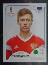 2018 RUSSIA WORLD CUP PANINI STICKERS-numero 50 Fëdor smolov